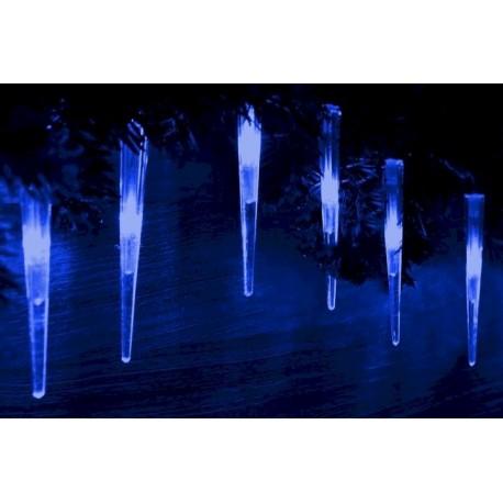 Lampki świąteczne 60 szt - Sople led bożonarodzeniowe